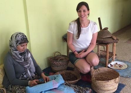 Visites d'une coopérative d'huile d'argan au Maroc